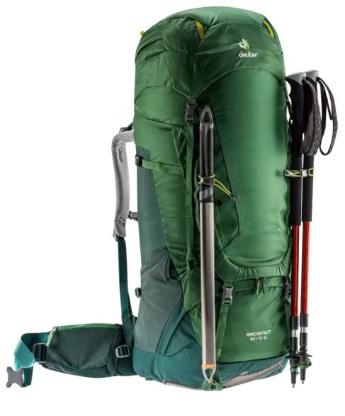 Deuter Aircontact 60+10 SL leaf-forest