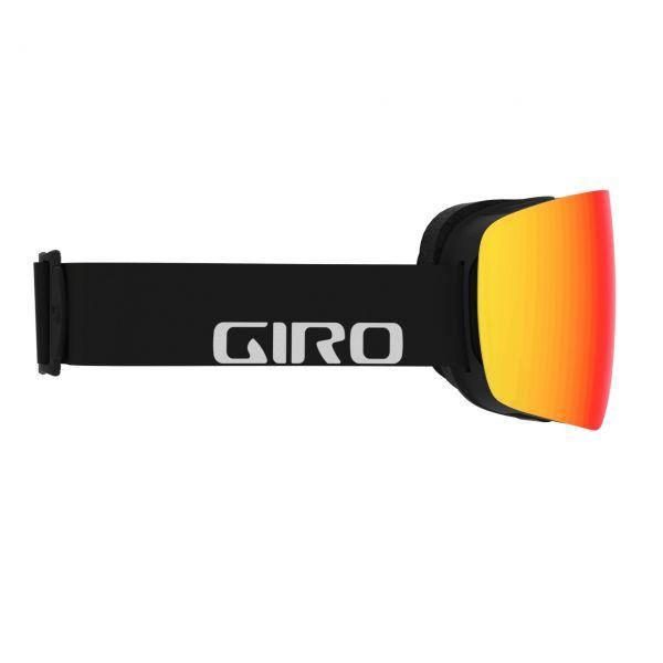 Giro Contour black wordmark/Vivid ember 2020/21
