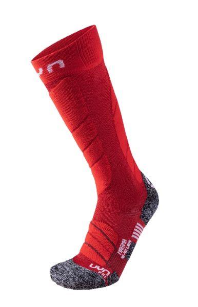 UYN Lady Ski Magma Socks dark red 2019/20