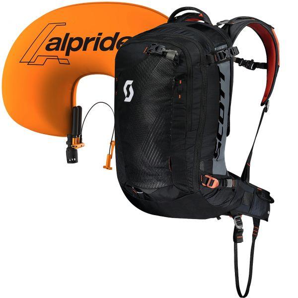 Scott Pack Guide AP 30 Kit black/burnt orange 2019/20