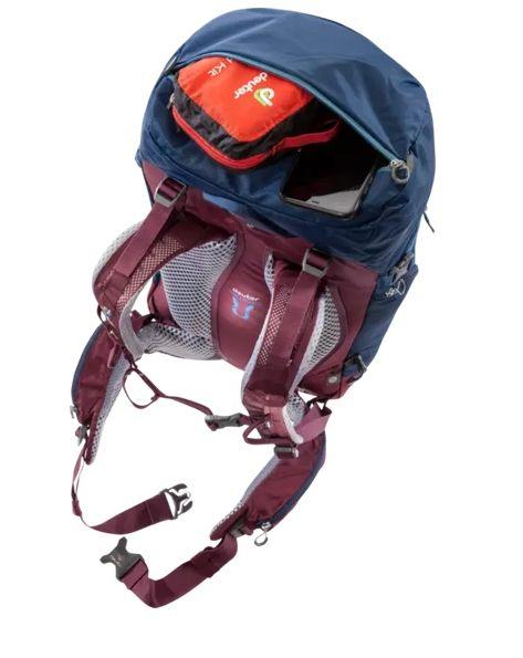 Deuter Trail Pro 34 SL midnight-maron