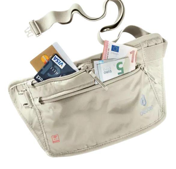 Deuter Security Money Belt II sand RFID BLOCK