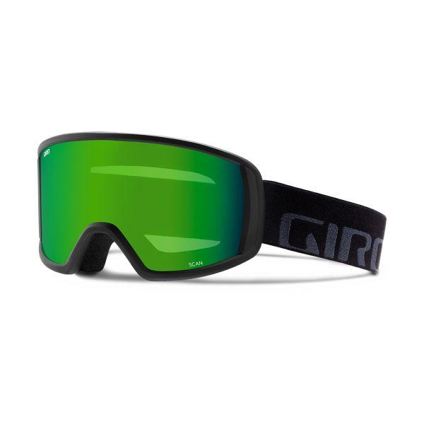 Giro Scan black wordmark - loden green 2018/19